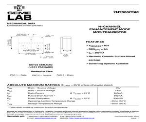2N7000CSMG4.pdf