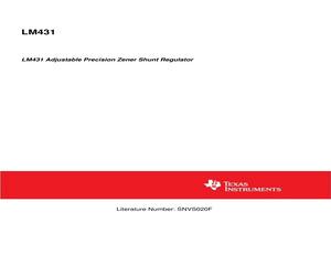 LM431CCM3/NOPB.pdf
